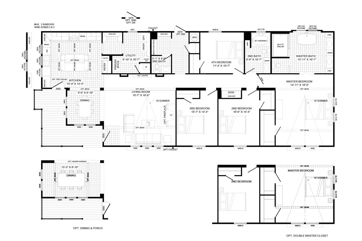 THE LULABELLE Floor Plan