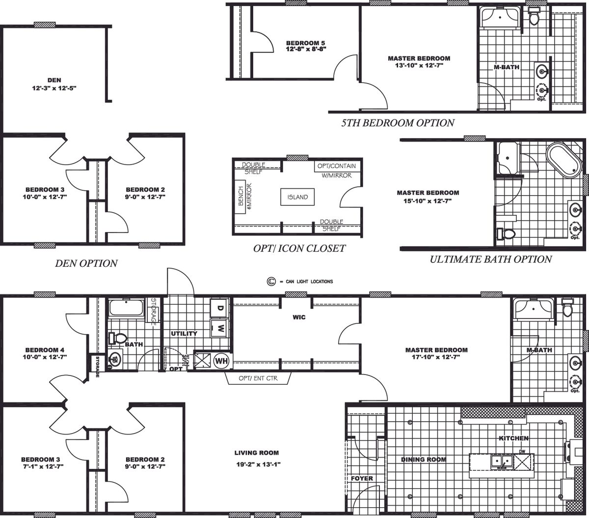 46BCN28704AH Floor Plan