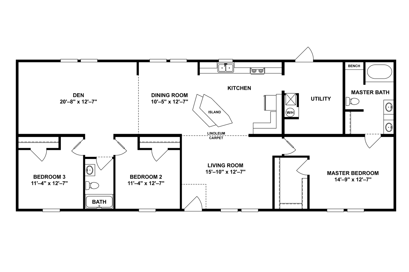 THE COLEMAN Floor Plan